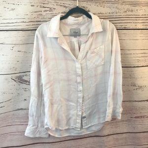 Rails lightweight casual button up shirt